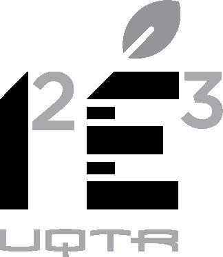 Logo I2E3 abrégé noir et blanc