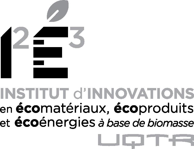 Logo I2E3 noir et blanc aligné à gauche