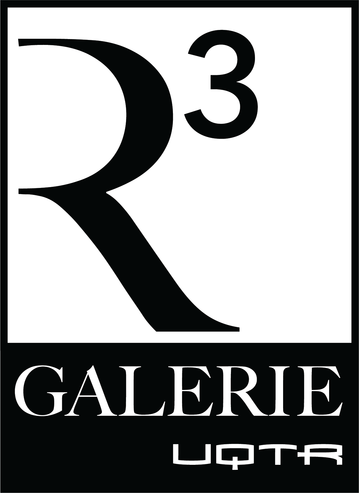 Logo Galerie R3 carré
